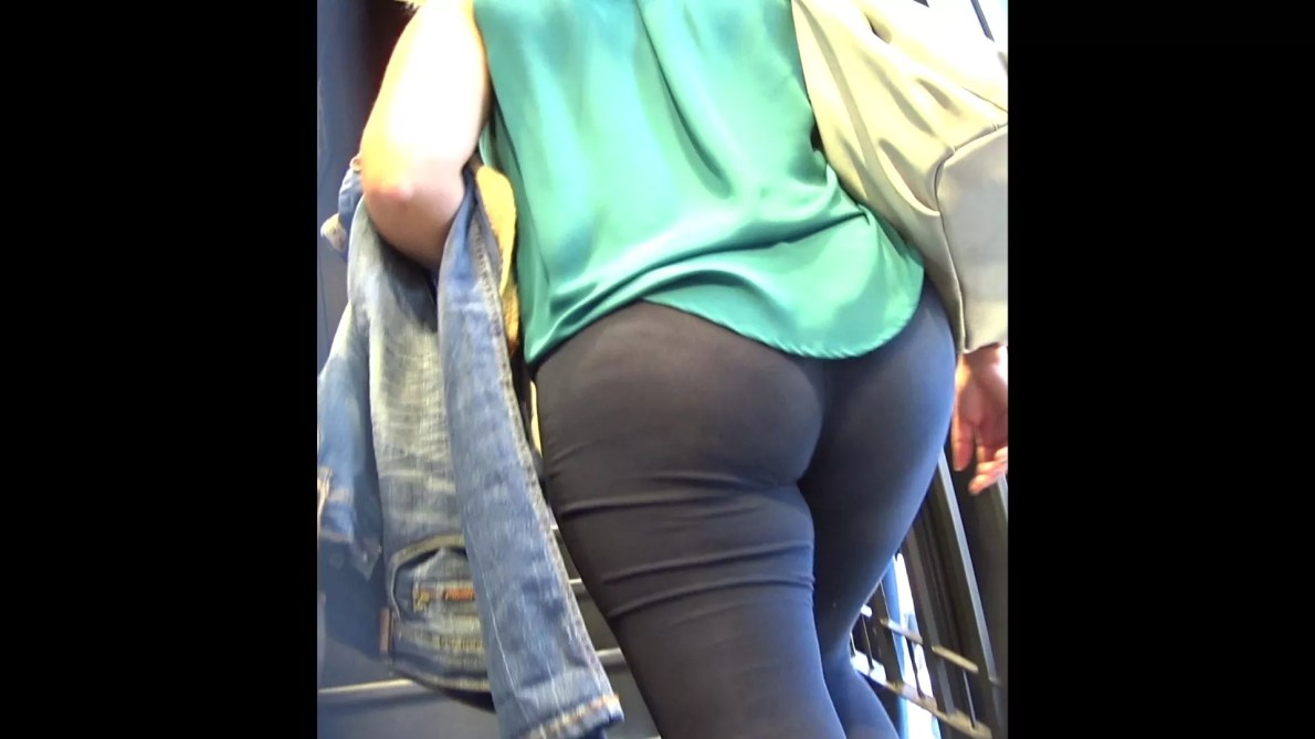 Big Ass In Leggings At Shop