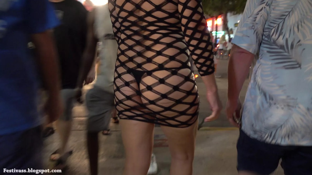Fishnet Dress