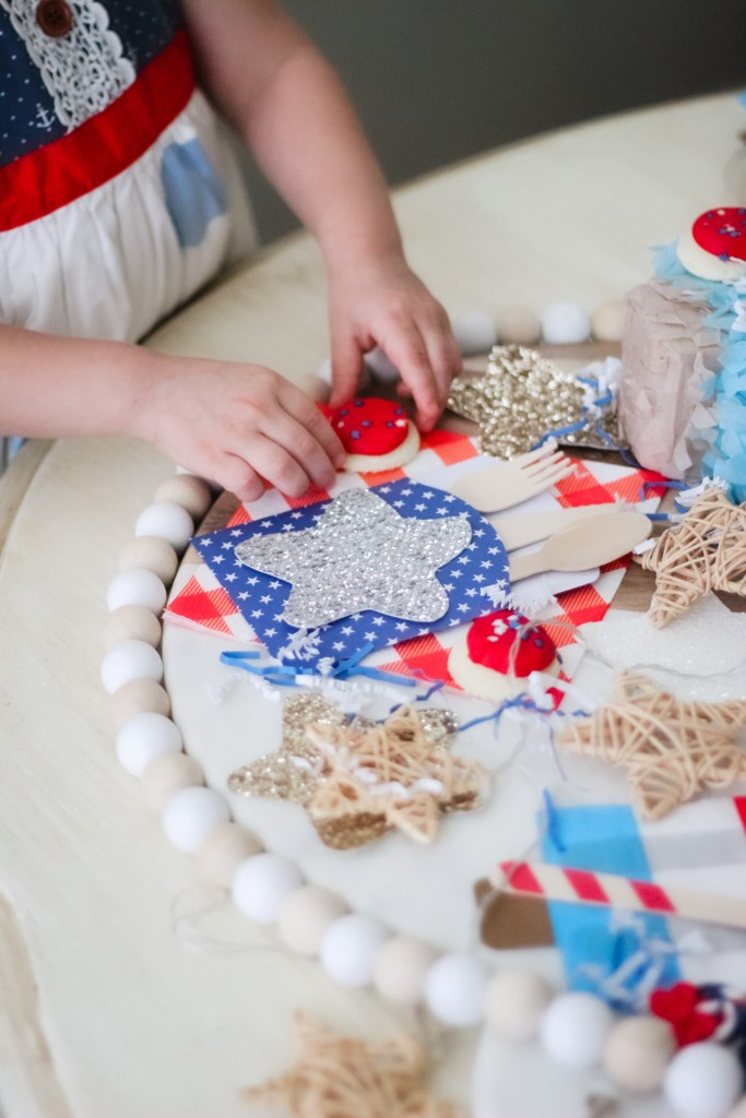 Party decor for the Fourth of July