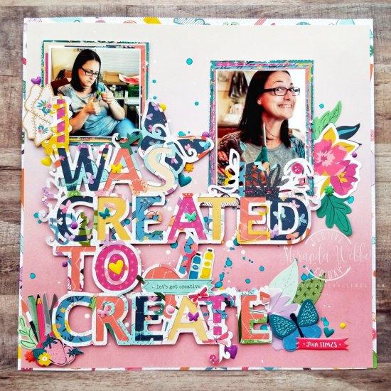 #FF0034, Festive Friday Challenge Designer- Miranda Webber, Creativity Day