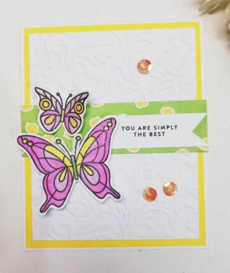 #FF0038, Festive Friday Designer- Patricia Chalas , watercolor