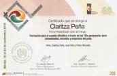 certificado de ecologia