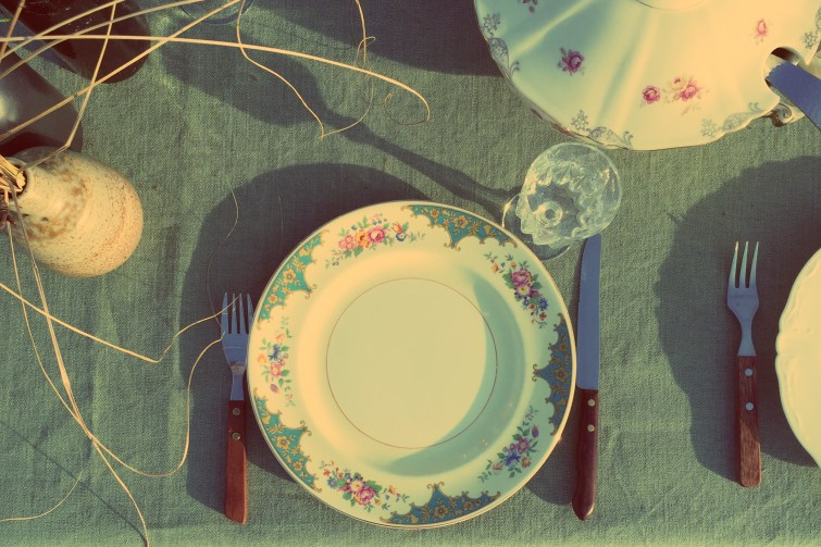 Vintage mix&match servies