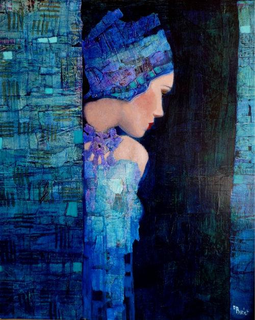 kék hölgy