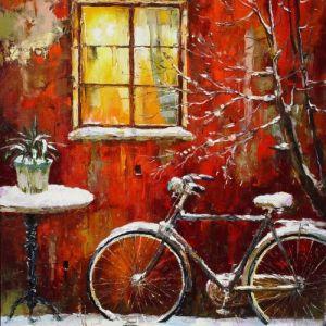 Téli bicikli