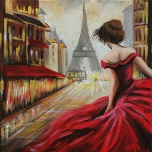 Párizsi fények otthoni élményfestő szett