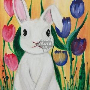 Húsvéti nyuszi élményfestő csomag gyerekeknek