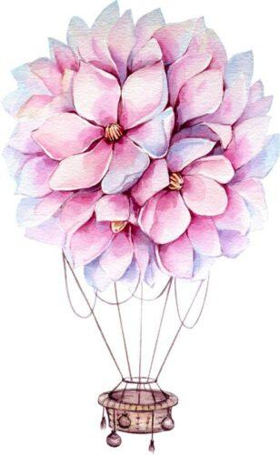 Virágballon