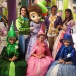Personagem para festa infantil Princesinha Sofia