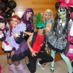 Personagem para festa infantil monster high Monster High