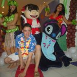 Personagem para festa infantil Lilo e Stitch