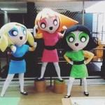 Personagem para festa infantil meninas super poderosas Meninas Super Poderosas