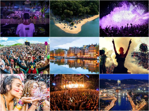 Top 10 Places to Party 2017