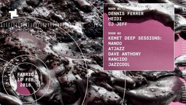 Dennis Ferrer debut at Fabric London February 10th