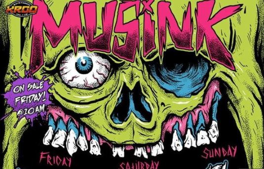 MUSINK 2018 Music Festival Car Show Tattoo Convention Travis Barker