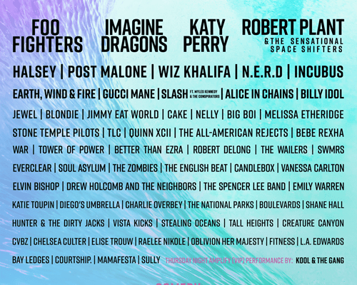 Kaaboo Del Mar Returns with Three Days of Chart Topping Names