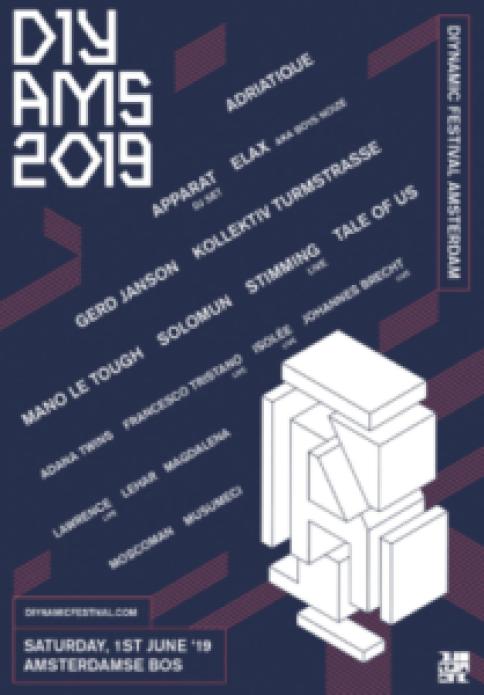 Diynamic Festival 2019 Amsterdam June 1