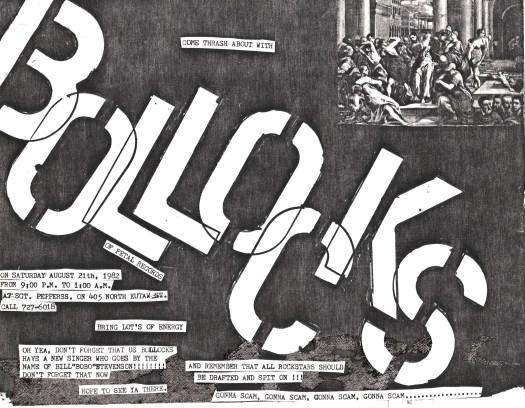 Bollocks Poster