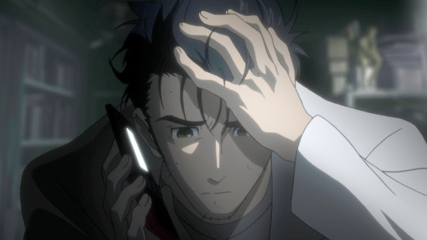 Image result for phone microwave steins gate headache