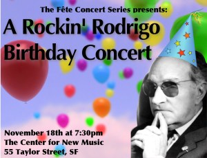 A Rockin Rodrigo Birthday Concert