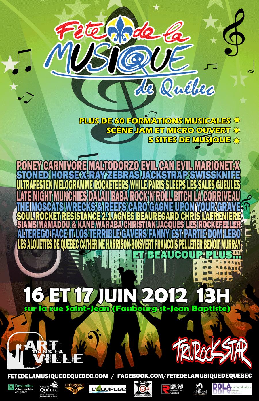 Affiche FMQ2012