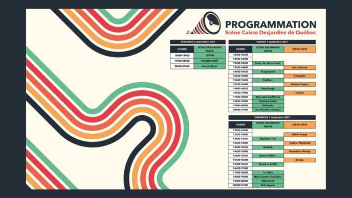Programmation Scène Desjardins | Scène CHYZ