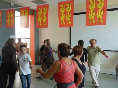 Quadrille en 5 figures. Danses traditionnelles, La Chouque. Fête Des Normands 2016. Photo fournie par l'organisateur.