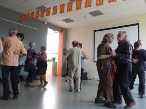 Polka. Danses traditionnelles, La Chouque. Fête Des Normands 2016. Photo fournie par l'organisateur.