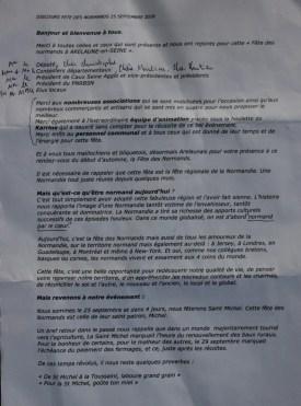 Discours Arelaune en Seine page 1