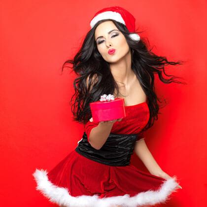 SantaClausGirl weihnachtsfeier Firmen Weihnachtsfeier absagen? Fetenroller kommt! SantaClausGirl