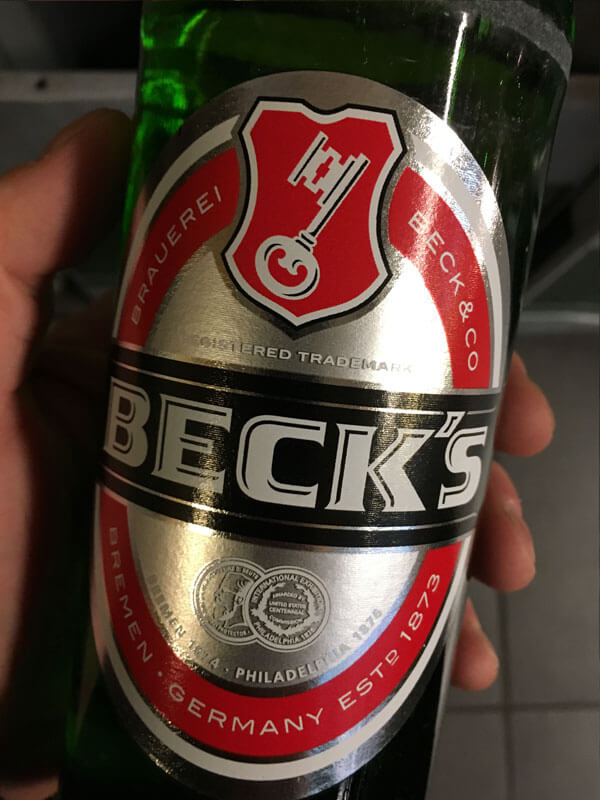 Beck's Etikett