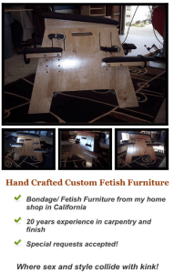 BDSM Equipment and Furniture