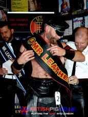 Winner Mr Leather 2015