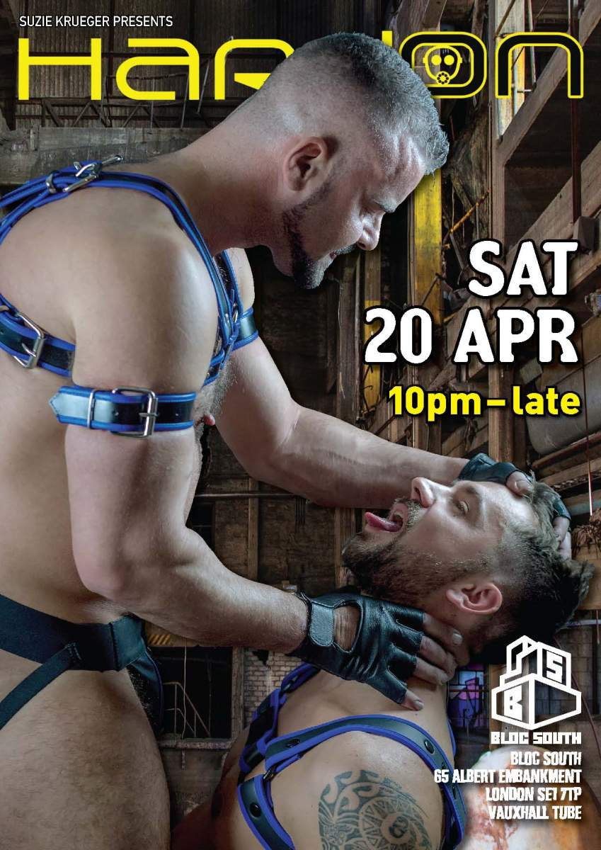 HARD ON EASTER Sat 20.4