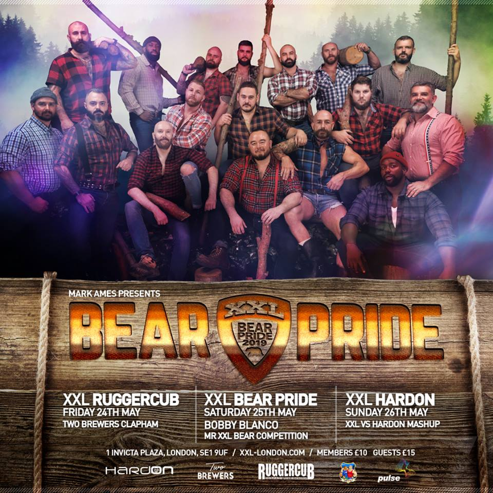 EVENT: BEAR PRIDE WEEKEND Fri 24-Sun 26.5
