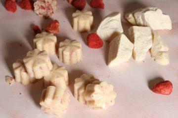 Hjemmelaget Hvit Sjokolade - (sukkerfri, keto)