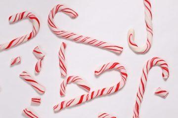 Polkagriser! (Keto & Sukkerfri Candy Canes)