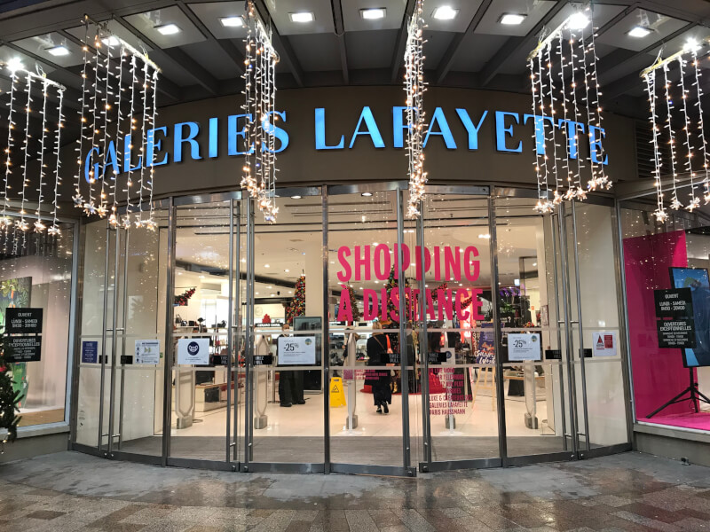 Galeries Lafayette Toulouseの入り口