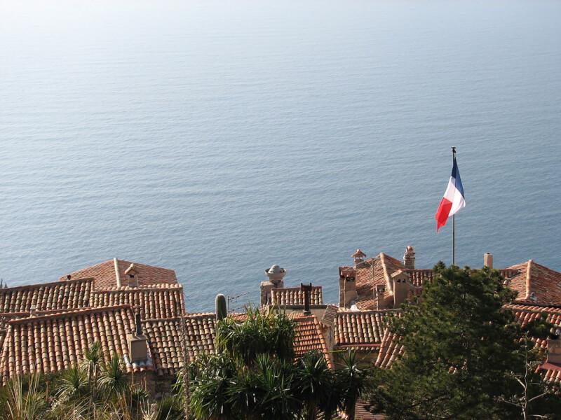 シャンソンが似合うフランスの海辺
