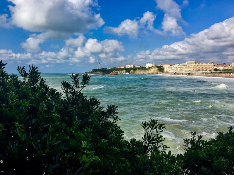 France -Biarritz