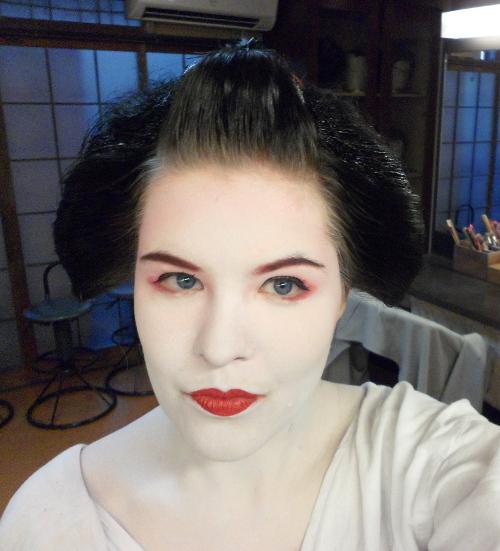 Aya Geisha Makeover - die Verwandlung