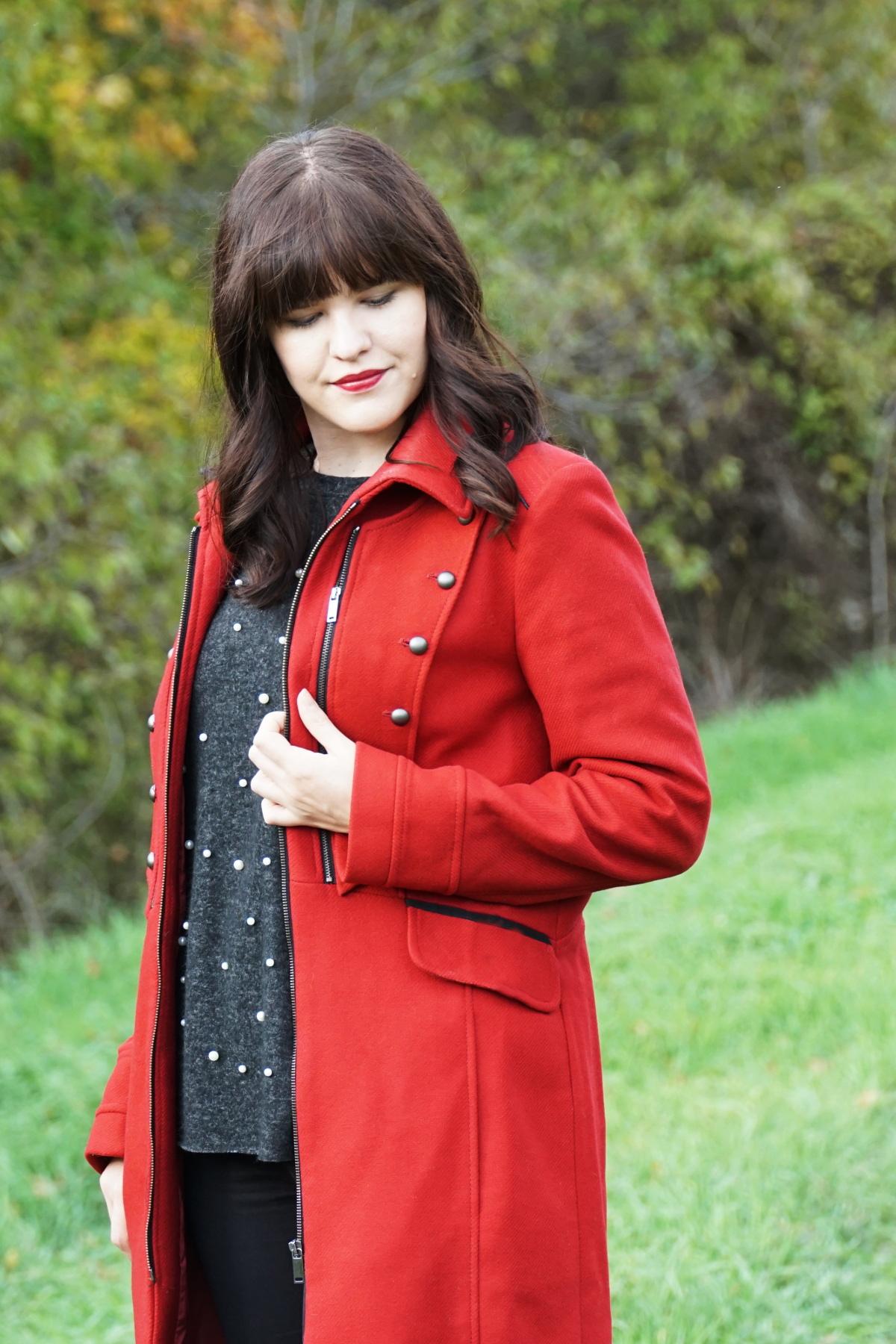 Trendfarbe Rot: Lieblingslook im Herbst