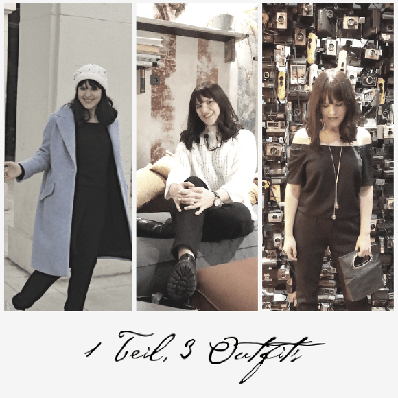 1 Teil 3 Outfits: Silvesterlook mit Jumpsuit