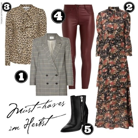 Fashion Trends Herbst Winter 2018