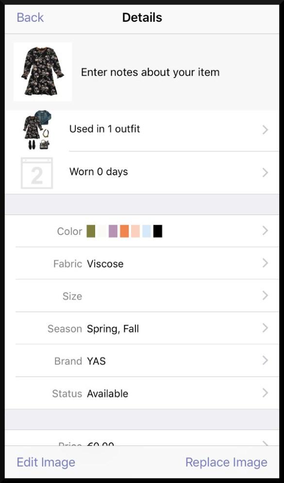 Stylebook App Statistik
