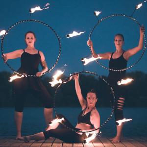 Feuershow Feuerkünstler Kollektiv