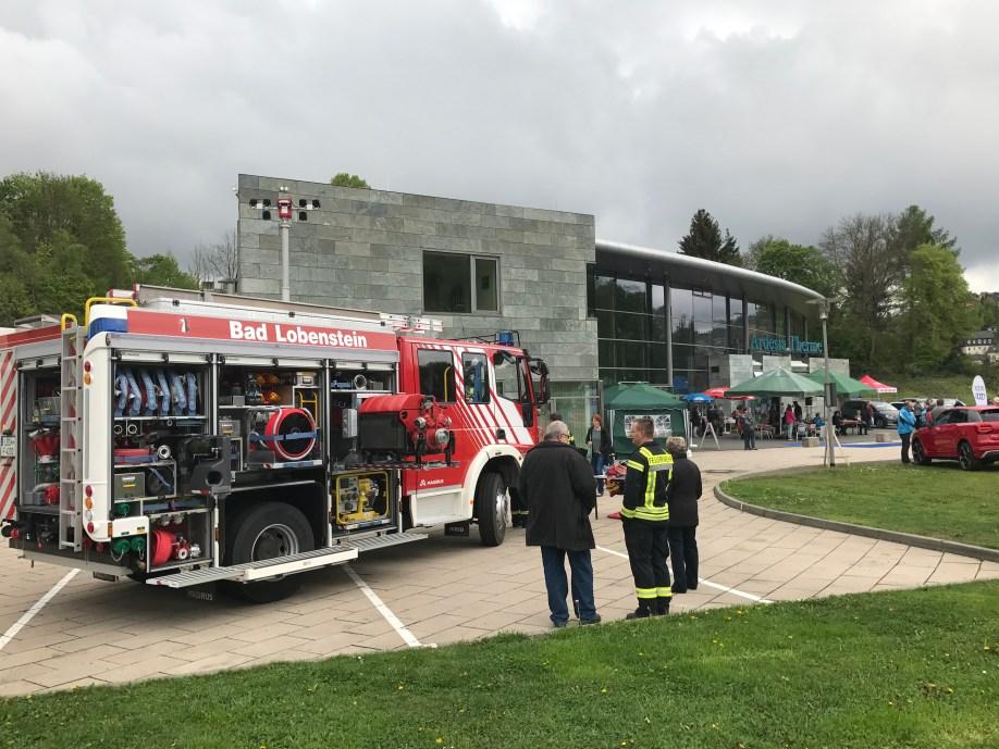Die FFW Bad Lobenstein beim Muttertagsbummel 2017
