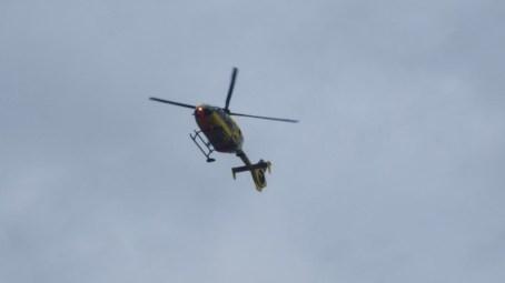 Hubschrauberlandung
