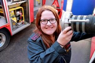 Susanne E. Wölk - Feuerwehrfrau