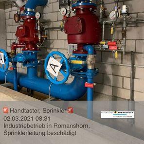 Handtaster / Sprinkler